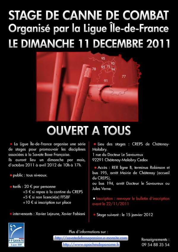 Stage 11 décembre