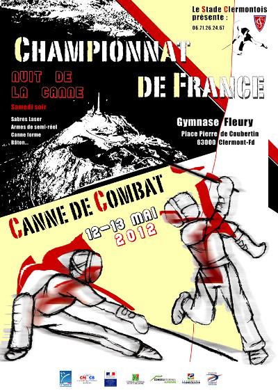 12-13 mai 2012 - Championnat de France - Canne de combat