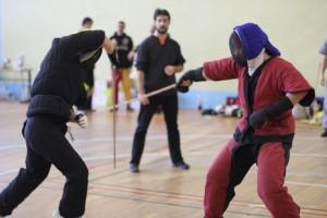 Titis 2012 - compétition parisienne par équipes de canne de combat