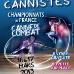 Affiche Championnat de France 2013