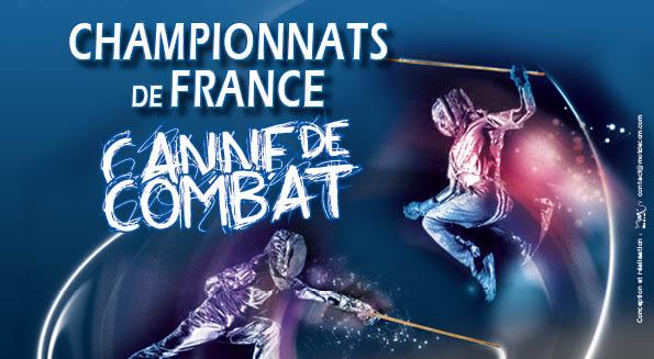 Championnat de France 2013 - canne de combat