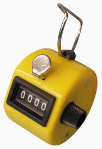 Compte-points jaune