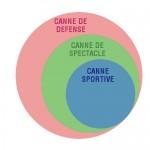 Structure de la pratique de la canne