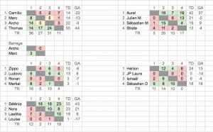 Poules Championnat de France 2014