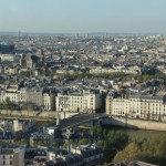 Vue de Paris par le 24e étage de la tour Zamansky