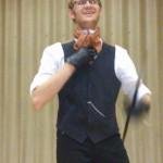 Canne de combat - canne de spectacle, préparation pour le Salon Fantastique 2014