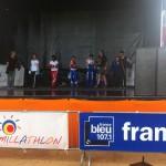 Démonstration de canne de combat au Famillathlon 2014 avec la FFSBF&DA
