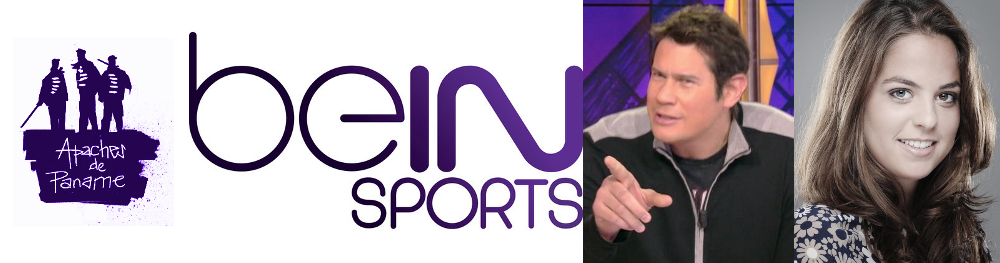 Canne de combat, BeIN Sports, Vincent Parisi et Anouchka Delon