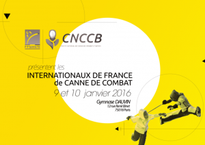 Internationaux de France de canne de combat 2016 à Paris