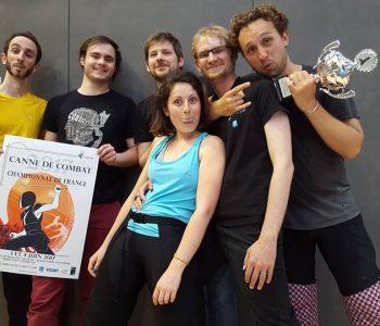 Championnat de France - canne de combat - Apaches de Paname
