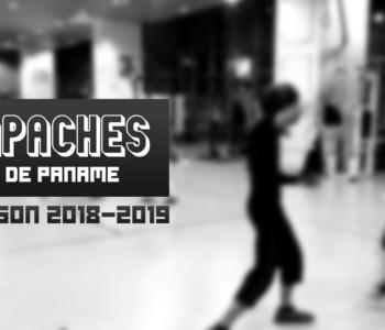 Apaches de Paname, saison 2018-2019, canne de combat, paris