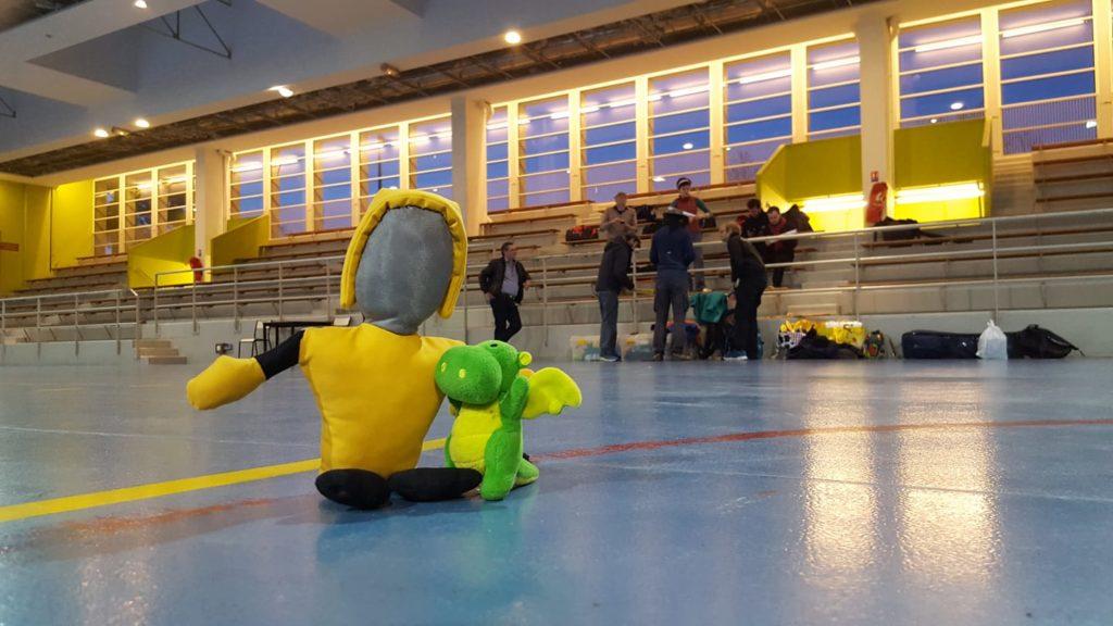 Titis Parisiens 2019 Mascottes canne de combat paris apaches de paname