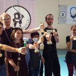 Médaillés de Brenouille, challenge de canne de combat, Apaches de Paname