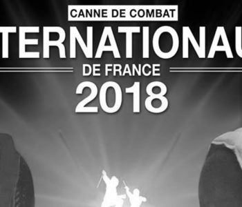 internationaux 2018 de canne de combat à Paris apaches de paname