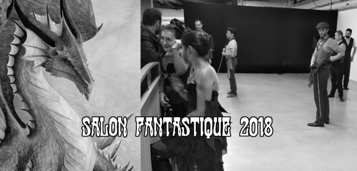 Salon Fantastique 2018 canne de combat paris apaches de paname