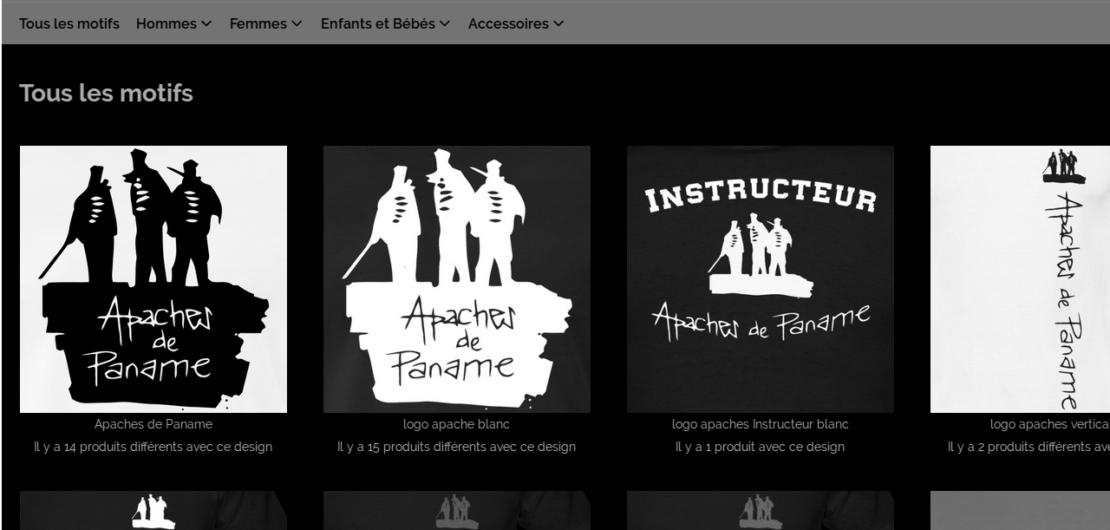 canne de combat boutique apaches de paname paris t-shirts