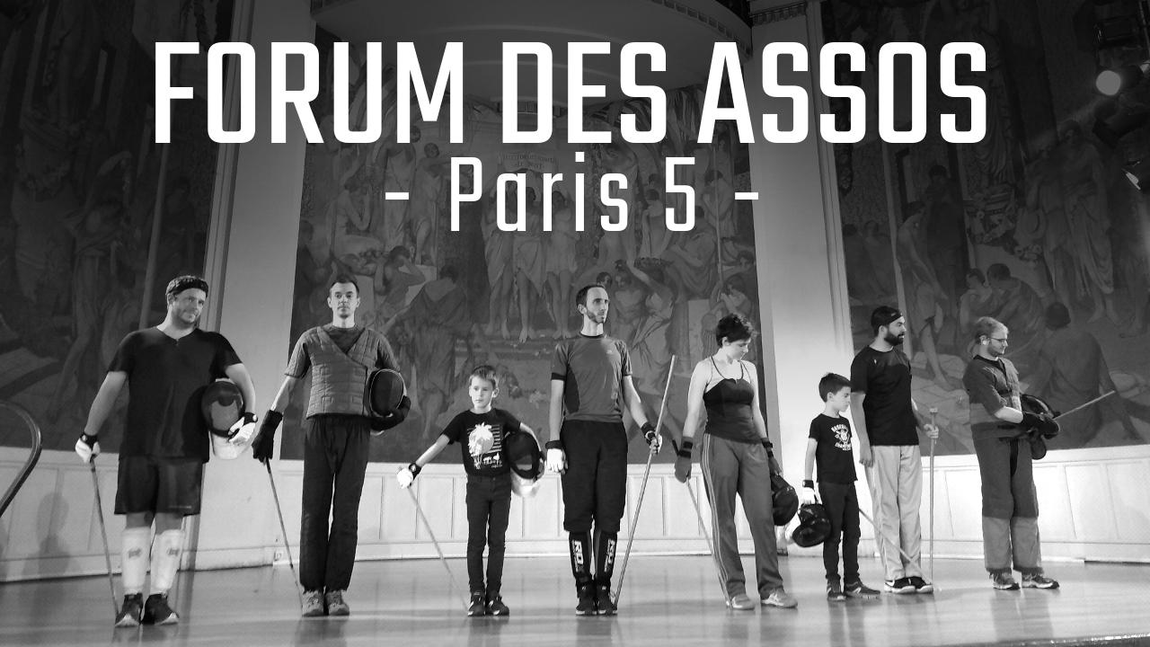 canne de combat paris forum associations paris 5 démonstration