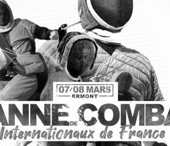 affiche internationaux canne de combat 2020 ermont apaches de paname paris