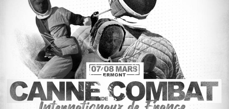 affiche internationaux canne de combat 2020 ermont apaches de paname paris